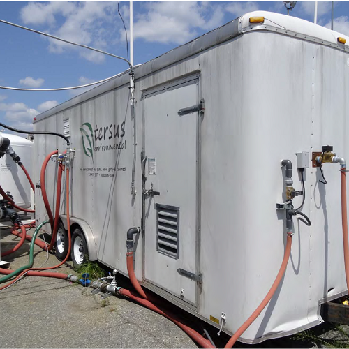 Equipment for Surfactant-Enhanced Aquifer Remediation (SEAR)